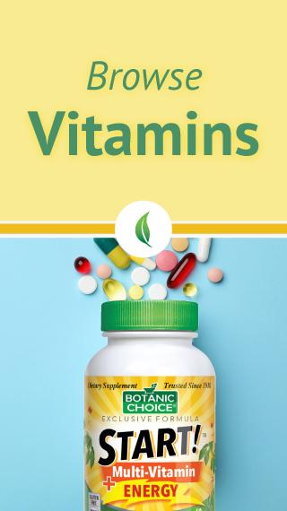 Browse essential vitamins.