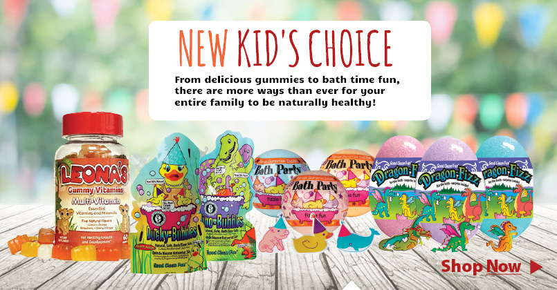 Botanic Choice products for everyone! From delicious gummies to bath time fun, there are more ways than ever for your entire family to be naturally healthy.