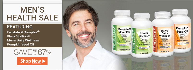 Gentleman, if you're concerned about your health, try one of these amazing supplements today!
