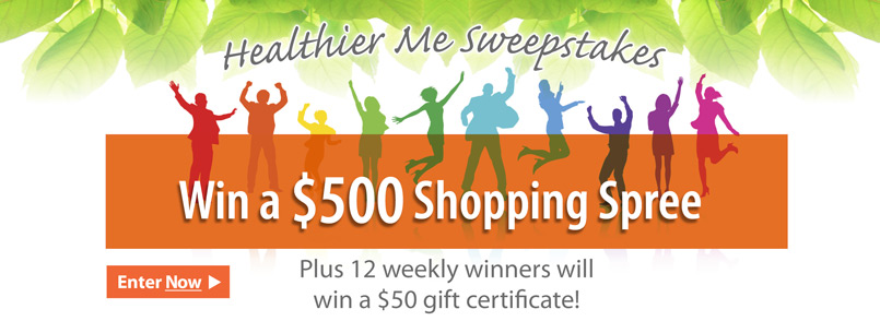 Enter Our Healthier Me Sweepstakes