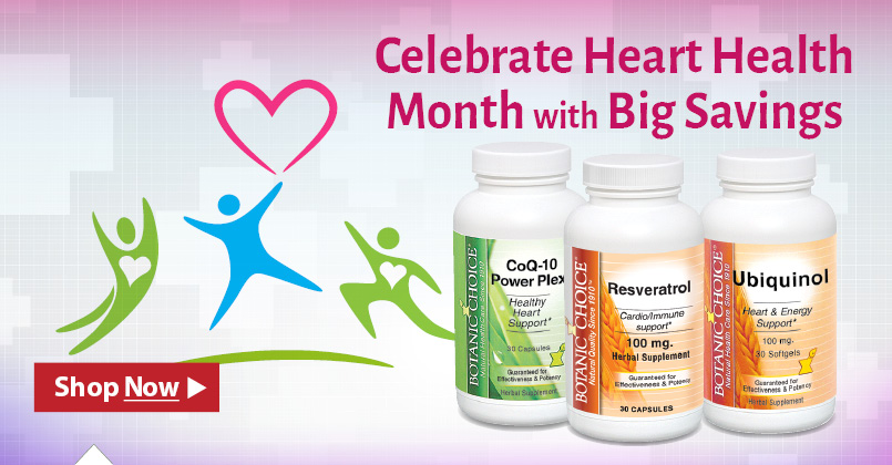 Celebreate Heart Health Month With Big Savings.