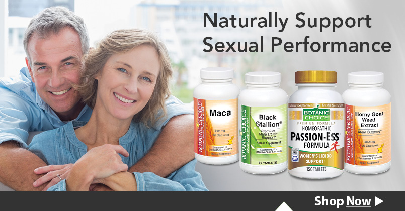 Rekindle the fire with this array of proven herbal formulas specifically developed to naturally support sexual performance.