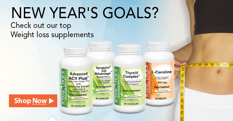 New Year's Goals. Check out our top weight loss supplements.