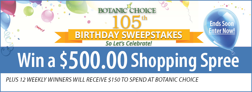 Enter our Birthday Sweepstakes for a chance to win a weekly prize