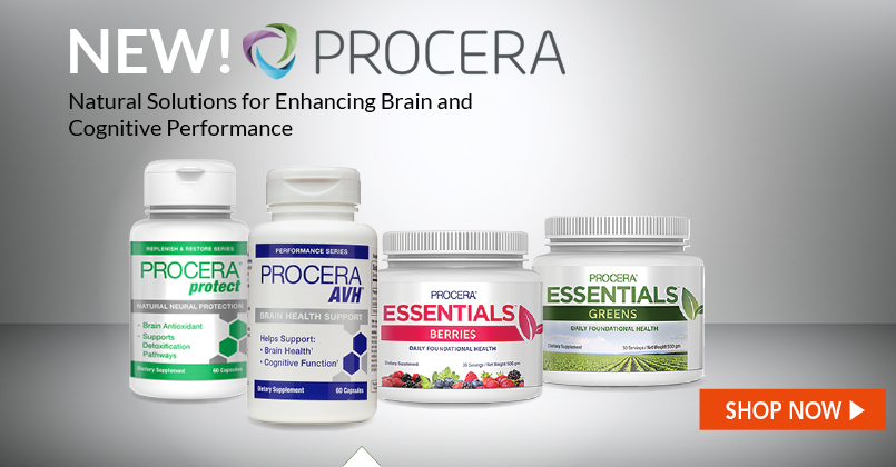 Procera has become a leading cognitive health brand, developing and innovating around a line of products designed to support brain health.