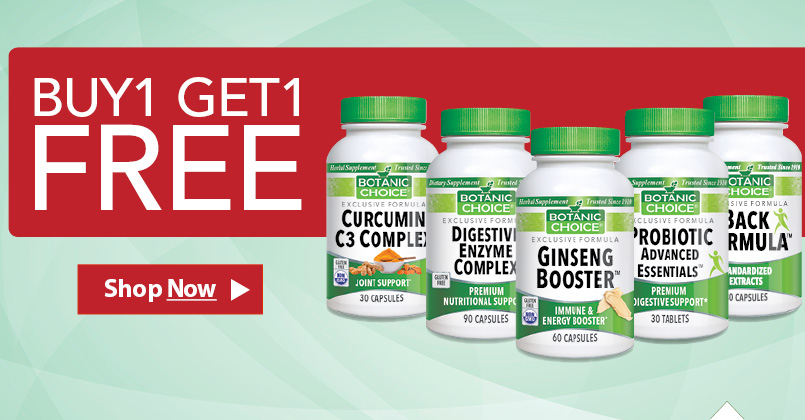 Check out our products being currently offered in our Buy 1 Get 1 Free promotion.