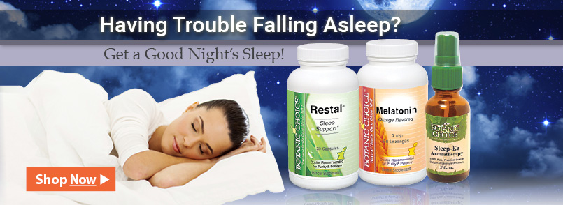 Having trouble fall asleep? Get a good night's sleep!