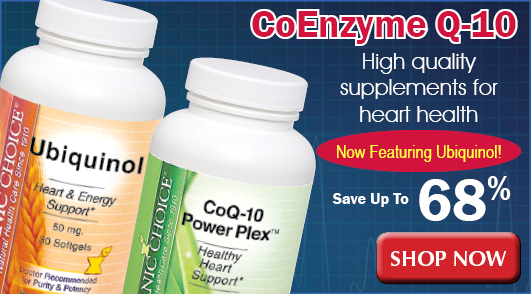 CoEnzyme Q-10 CoQ-10 supplements