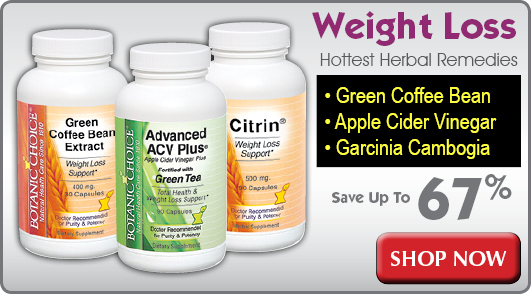 Weight loss supplements featuring green coffee bean, garcinia cambogia and raspberry ketones