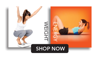 Exercising women. Weight and energy shop now.