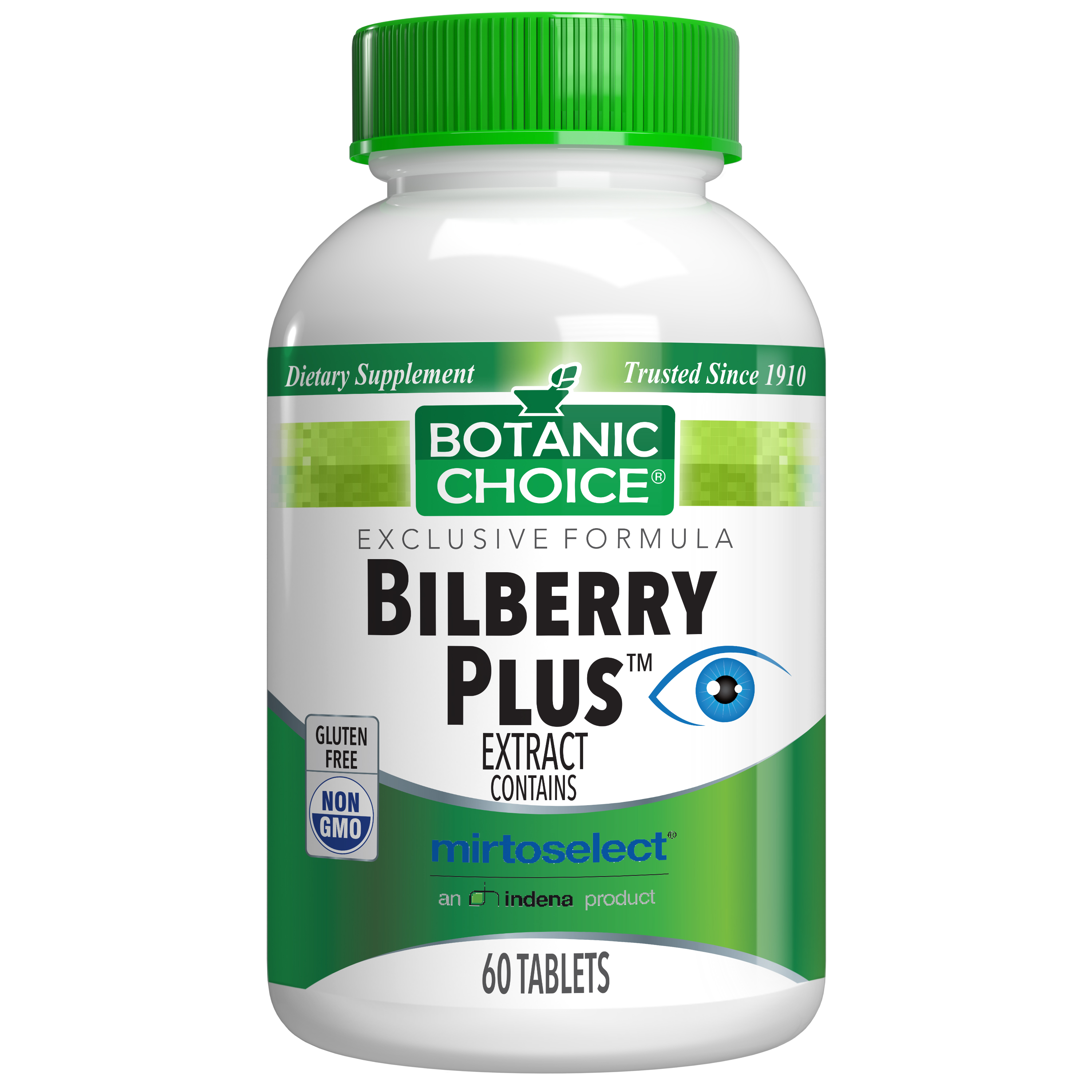 Botanic Choice Bilberry Plus™ - Vision Support Supplement - 60 Tablets