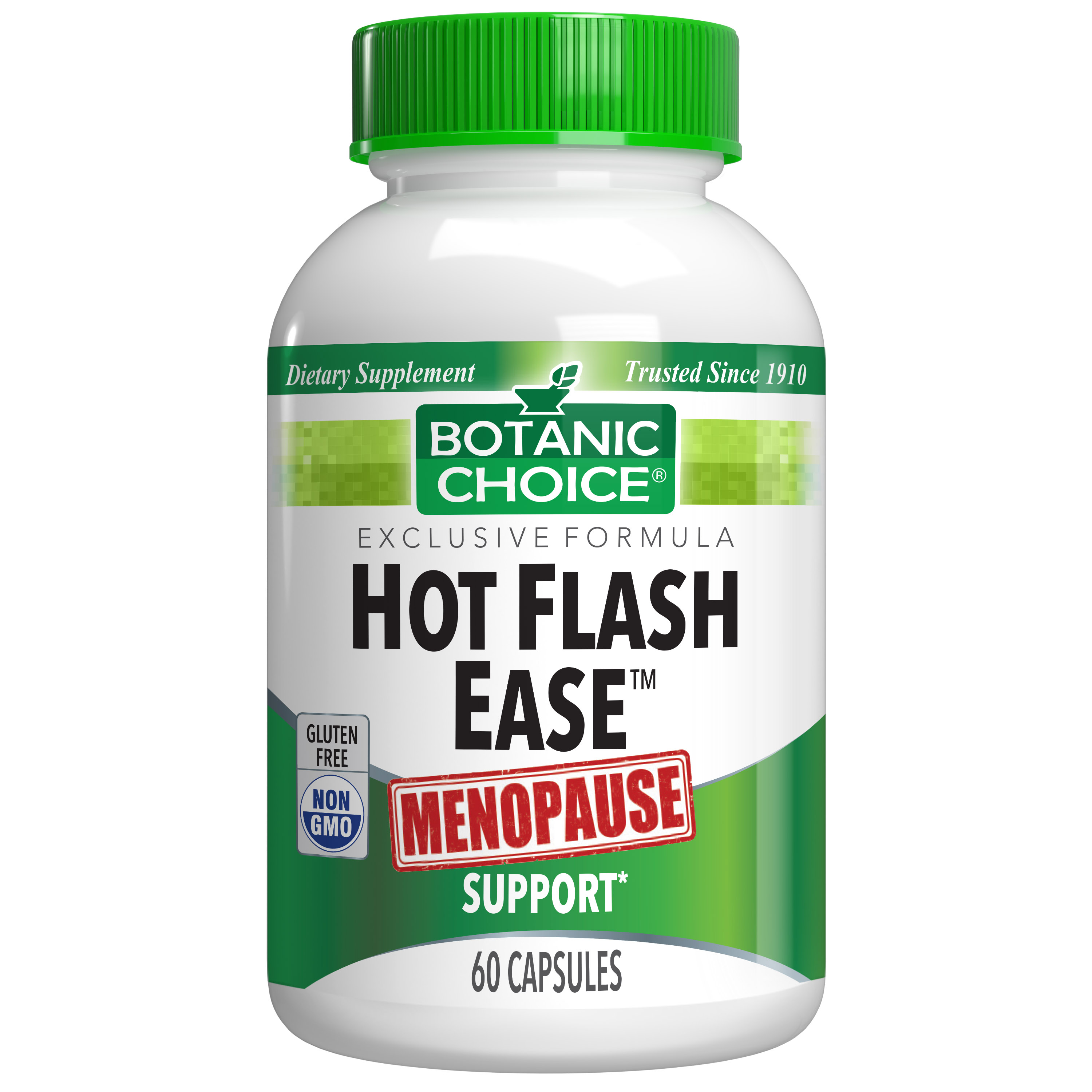 Botanic Choice Hot Flash Ease™ - Menopause Support Supplement - 60 Capsules