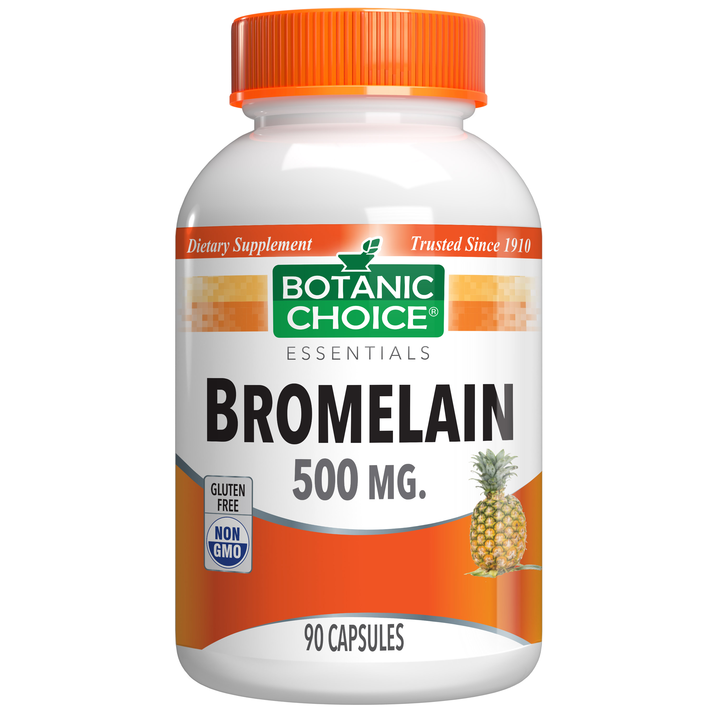 Botanic Choice Bromelain Capsules 500 mg - Joint Support Supplement - 90 Capsules