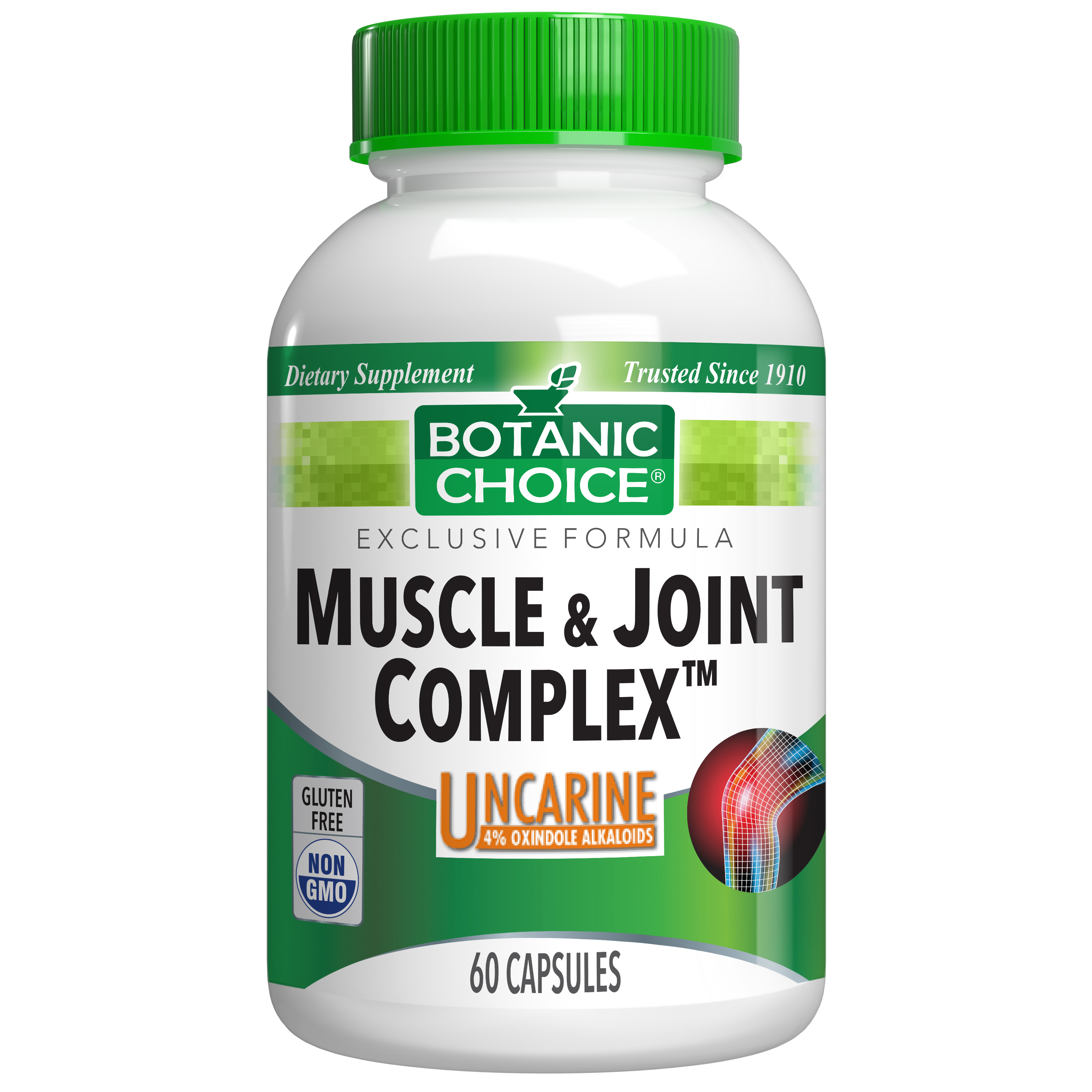 Botanic Choice Muscle & Joint Complex - Joint Support Supplement - 60 Capsules