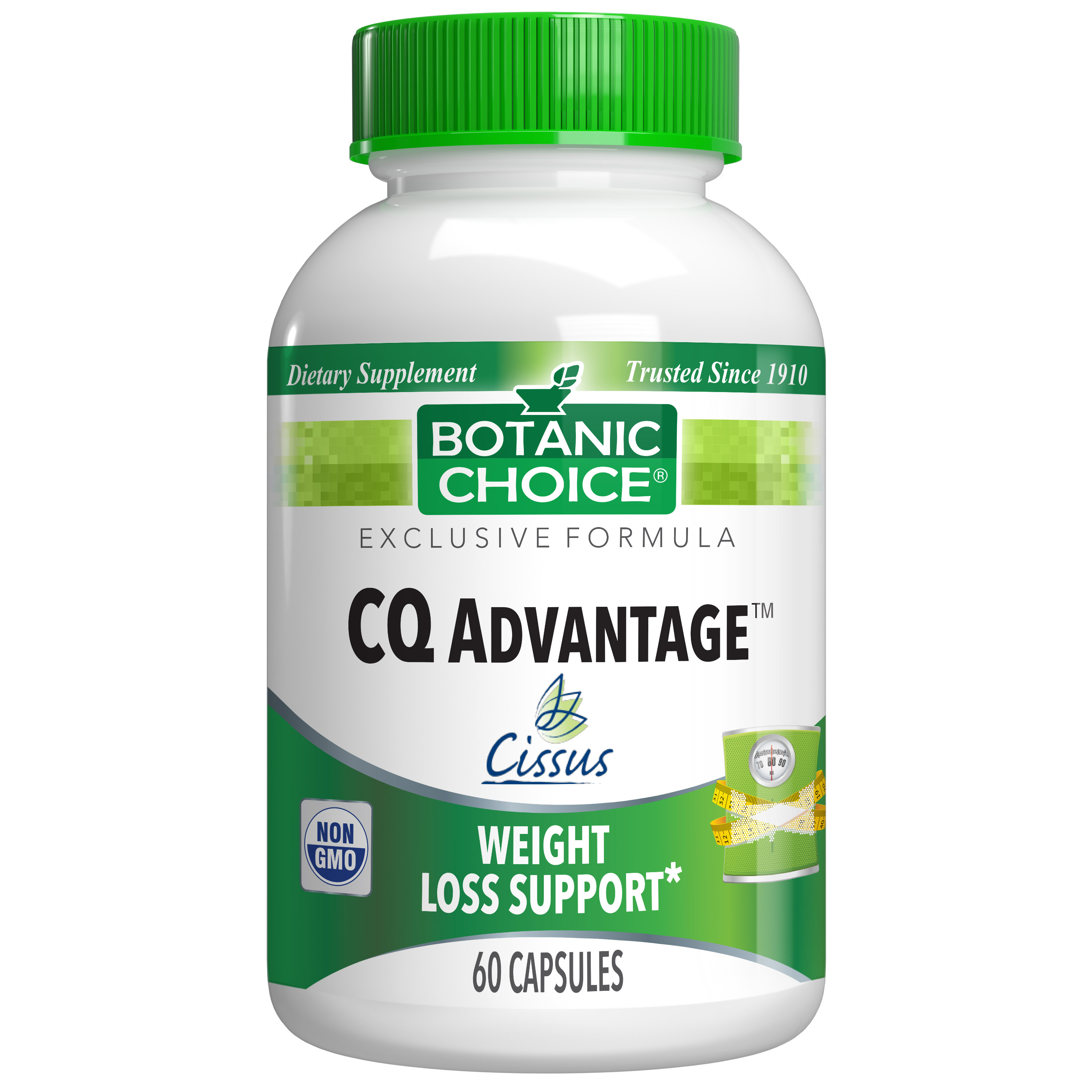 Botanic Choice CQ Advantage™ - Weight Loss Support Supplement - 60 Capsules