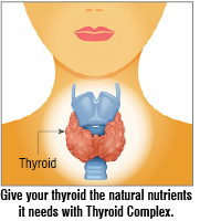 give your thyroid the natural nutrients it needs with thyroid complex